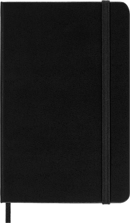 Classic Planner 2022 12M DAILY PK BLK SOFT