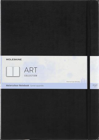 Watercolour Notebook ART WATERCOLOUR NTBK A3 BLACK
