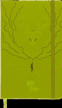 Harry Potter Notebooks LE NB H.POTTER LG RUL BOOK 3 OLIVE GREEN