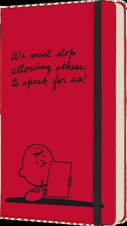 Agendas Peanuts 2022 12M PEANUTS DAILY LG SCARLET RED