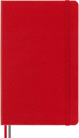 Classic Notebook Expanded NOTEBOOK LG EXPANDED RUL S.RED HARD