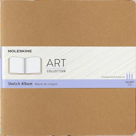 Sketch Album ART CAHIER SKETCH ALBUM SQRD KRAFT BROWN