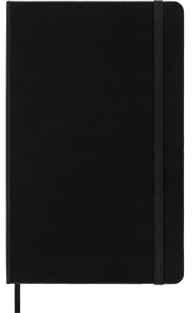 Carnet Classic NOTEBOOK LG RUL HARD COVER BLACK