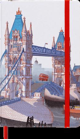 Cuadernos I am the city LE NB I AM LONDON LG RUL WHT
