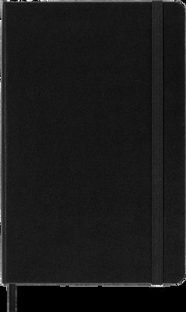Classic Notebook NOTEBOOK MED RUL BLK HARD