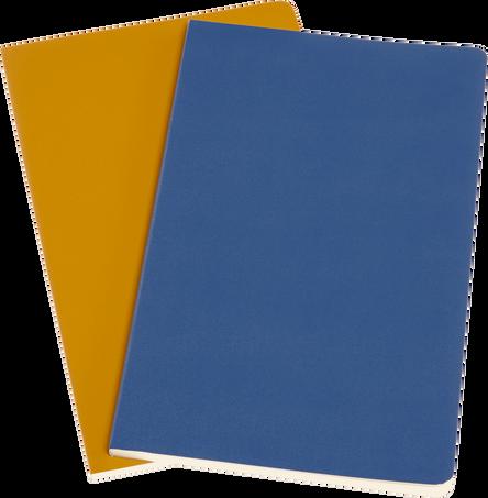 Volant Journals VOLANT JNLS LG PLA FORGET.BLUE AMBER.YLW