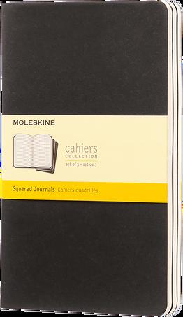 Cahier Journals CAHIER JNLS LG SQU BLACK