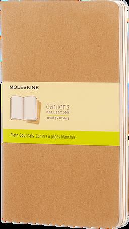 Cahier Journals CAHIER JNLS LG PLA KRA.BROWN