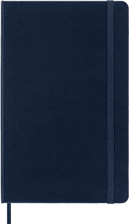 Classic Planner 18M WKLY NTBK LG SAP.BLUE HARD