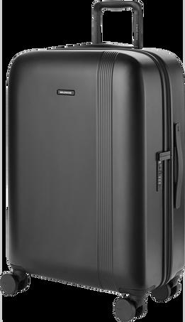 Journey Hard Luggage JOURNEY HARD MEDIUM LUGGAGE BLK