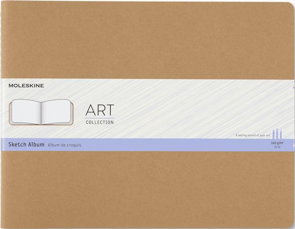 Sketch Album ART CAHIER SKETCH ALBUM XXL KRAFT BROWN