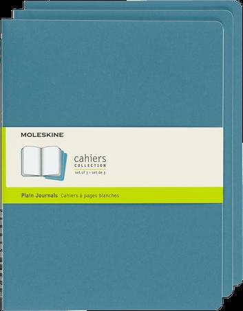 Cahiers CAHIER JNLS XL PLA BRISK BLUE