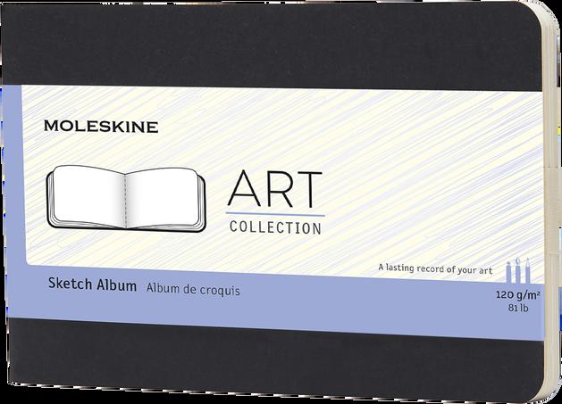 Sketch Album ART CAHIER SKETCH ALBUM PKT BLACK