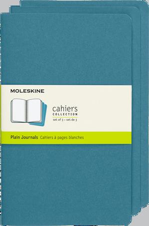 Cahier Journals CAHIER JNLS LG PLA BRISK BLUE