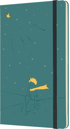 Le Petit Prince Notebooks LE NB PETIT PRINCE LG RUL SEAWEED GREEN