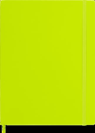 Classic Notebook NOTEBOOK XL PLA SOFT LEMON GREEN