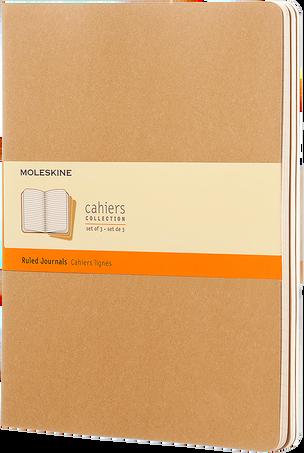 Cahier Journals CAHIER JNLS XL RUL KRA.BROWN