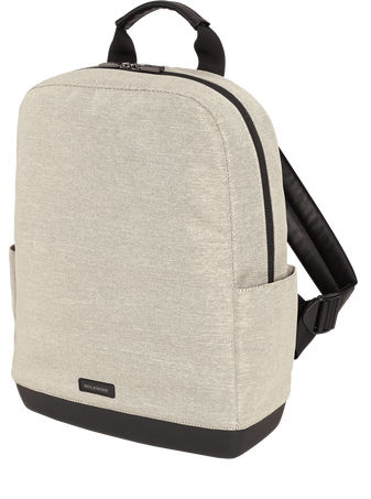 The Backpack – Toile THE BACKPACK CANVAS SHELL WHITE