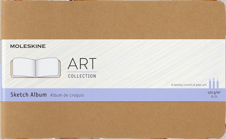 Sketch Album ART CAHIER SKETCH ALBUM LG KRAFT BROWN