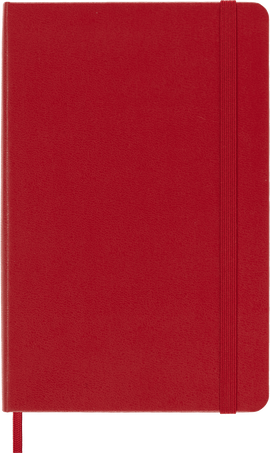 Classic Notebook NOTEBOOK MED RUL SCARLET RED HARD