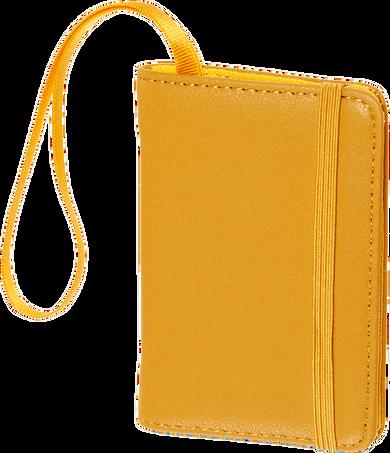 Luggage Tag CLASSIC LUGGAGE TAG MUSTARD YELLOW