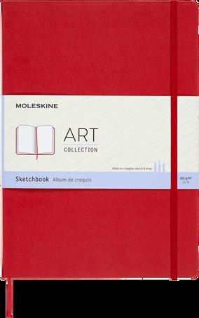 Sketchbook ART SKETCHBOOK A4 SCARLET RED