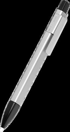 Stylo-bille Roller Plus à bouchon Classic PRO 1,0 CLASSIC PRO CAP B.PEN 1.0 SLV.GREY