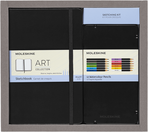Colouring Kit and Sketching Kit BUNDLE ART SKETCHING KIT A