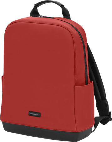 The Backpack - Soft-Touch PU THE BACKPACK SOFT TOUCH PU BORDEAUX RED