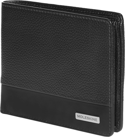 Horizontal Wallet with Coin Holder CL. MATCH LTH HOR WALLET +COIN BLK
