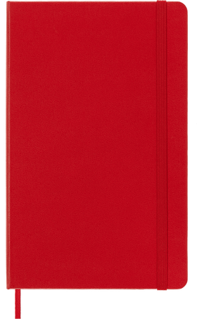Carnet Classic NOTEBOOK LG RUL S.RED F2