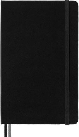 Classic Notebook Expanded NOTEBOOK EXPANDED LG RUL BLK HARD