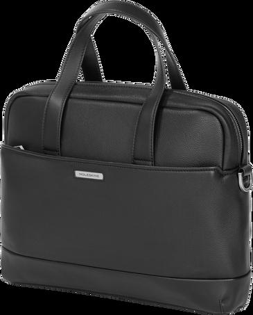 Slim Briefcase CL. MATCH LTH BRIEFCASESLIM BLK