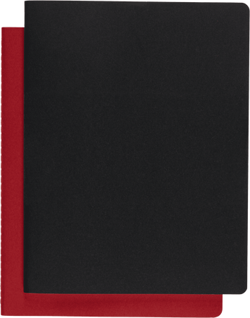 Subject Cahier CAHIER JNLS SUBJECT XXL BLK CRB.RED