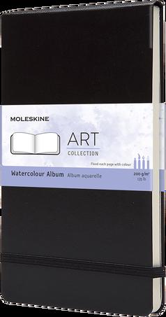Watercolour Album ART WATERCOLOR ALBUM LG BLK