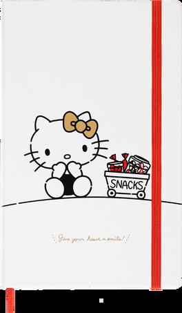 Carnets Hello Kitty LE NB HELLO KITTY LG PLA WHITE