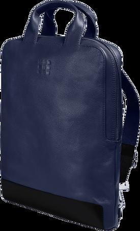 "Vertical Device bag - 15"" CLASSIC LTH DEVICE BAG VERT SAP.BLUE"
