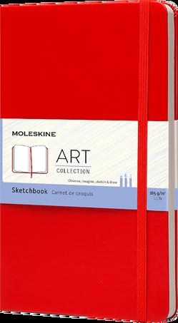 Sketchbook ART SKETCHBOOK LG RED F2