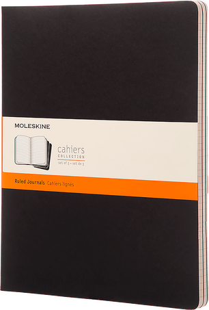 Cahier Journals CAHIER JNLS XXL PLA BLACK